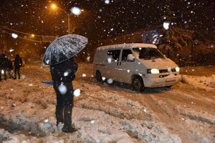 Kahramanmaraş-Kayseri yolu çift yönlü trafiğe kapatıldı