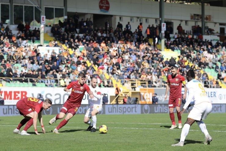 Alanyaspor ligin ikinci yarısına bol golle başladı
