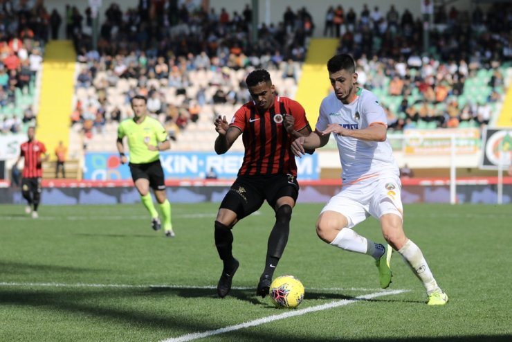 Süper Lig: Aytemiz Alanyaspor: 0 - Gençlerbirliği: 1 (Maç sonucu)