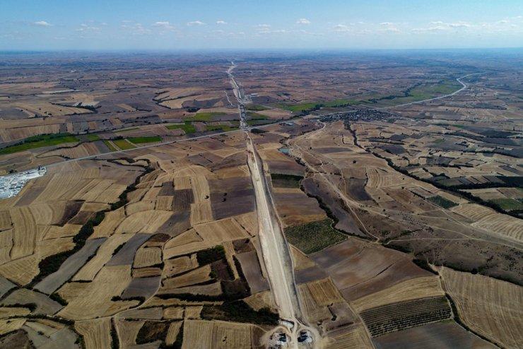 Halkalı-Kapıkule Demir Yolu Hattı Projesi'nin yüzde 20'si tamamlandı