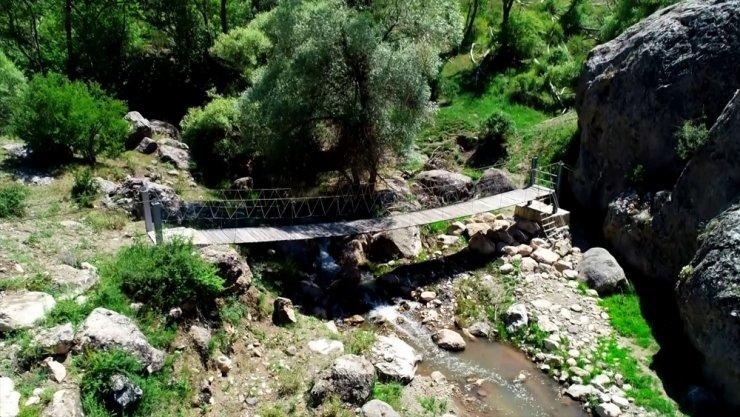 Hititlerin başkentinde büyüleyici bir güzellik 'Budaközü Vadisi'