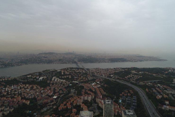 Yağmur bulutlarının gelişi böyle görüntülendi