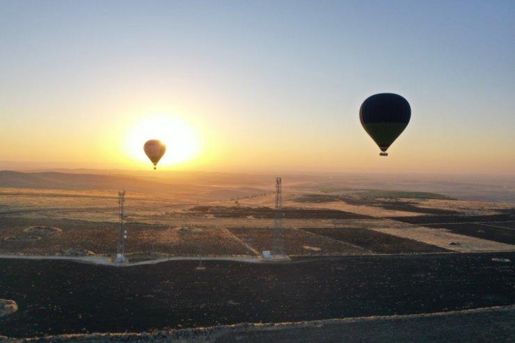 Tarihin sıfır noktasında lisanslı balon uçuşları başladı