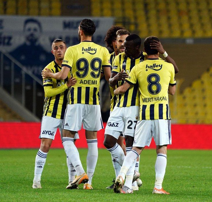 Ziraat Türkiye Kupası: Fenerbahçe: 4 - Sivas Belediyespor: 0