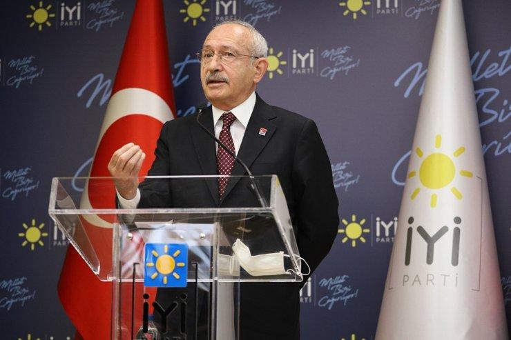 Kemal Kılıçdaroğlu, Meral Akşener'i ziyaret etti